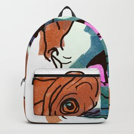 The Boxer cutie keeps you happy! Backpack