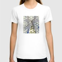 john snow T-shirts featuring Snow worlds by Tanja Riedel