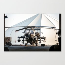 I need to order an AH-64 Apache Longbow Helicopter Canvas Print