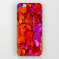 fierce iPhone & iPod Skins featuring Fierce by Claire Day