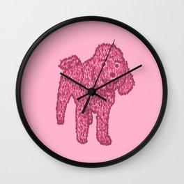 a fluffy friend Wall Clock