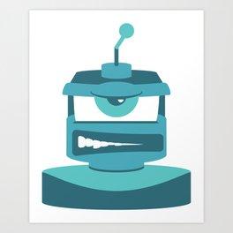 Grrr Bot Art Print
