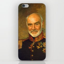 Sir Sean Connery - replaceface iPhone Skin