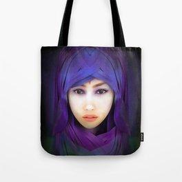 Model Portrait Tote Bag