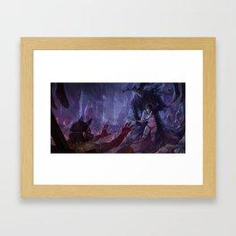 Mauthias, the Dark Father Framed Art Print