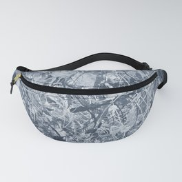 Abstract black painting Fanny Pack