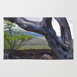 Tree and Maui Lava Flow Rug