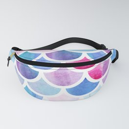 Mermaid scales Fanny Pack
