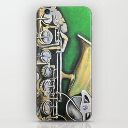 Belle's Sax iPhone Skin