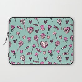 Valentines candy hearts chocolates love gifts for sweetheart Laptop Sleeve