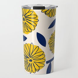 Floral_blossom Travel Mug