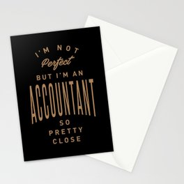 Accountant - Funny Job and Hobby Stationery Cards