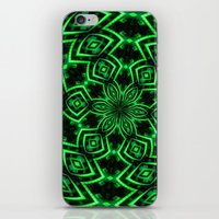 rave iPhone & iPod Skins featuring Rave Explosive by Julie Maxwell