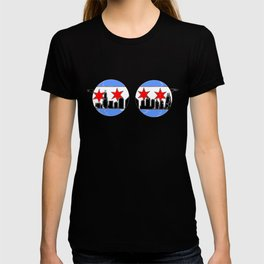 chicaGOggles skyline T-shirt