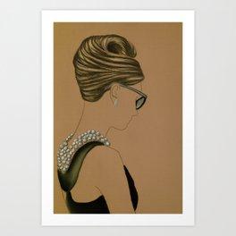 Coiffure No.3 Art Print