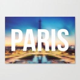 Paris - Cityscape Canvas Print