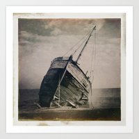 boat Art Prints featuring Boat by Jean-François Dupuis
