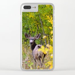 Deerly Beloved Clear iPhone Case