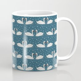 Swans love sparkles // winter sun Coffee Mug