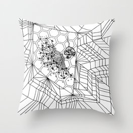 Short Fuse Throw Pillow