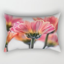 Aster Pink 096 Rectangular Pillow