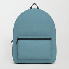 Christmas Icy Blue Velvet Backpack