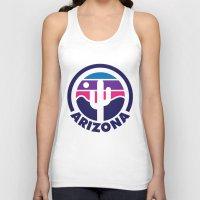 arizona Tank Tops featuring Arizona by Lopez91