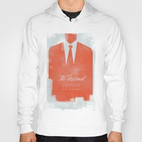 the national Hoodies featuring The National  by Silent K Design