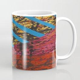 Corner Splatter # 8 Coffee Mug