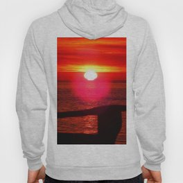 Sun Melts into the Sea Hoody
