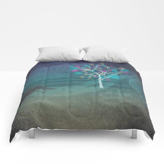 Glitch Park Comforters