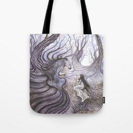 Les Cils du Loup Tote Bag