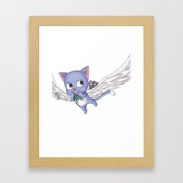Becoming Happy Framed Art Print