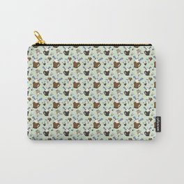 Mocha & Paper Airplanes Carry-All Pouch