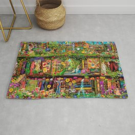 The Secret Garden Book Shelf Rug