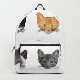 A Purrfect Pattern Backpack