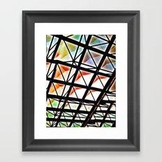 Rainbow Ricardo Too - Vivido Series Framed Art Print