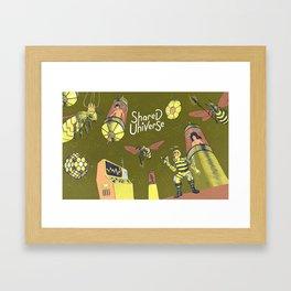 Graft - Hivemind Framed Art Print