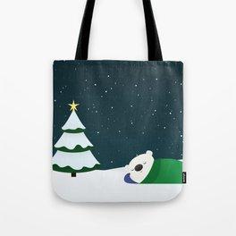 Christmas Dreaming Tote Bag