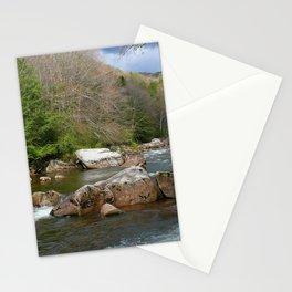 Desktop Wallpapers USA West Virginia,Williams River, Monongahela national forest Nature park Forests stone river Parks Stones Rivers Stationery Cards