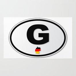 G Plate Rug