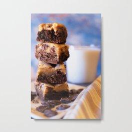 Brownies and Cookies equal Brookies Metal Print
