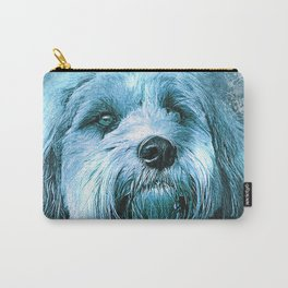 The Blue Dog Carry-All Pouch