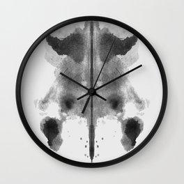 Form Ink Blot No.2 Wall Clock