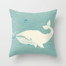 This Party Blows Throw Pillow