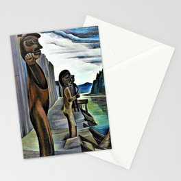 Emily Carr - Blunden Harbour - Digital Remastered Edition Stationery Cards