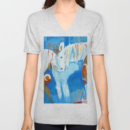 Birth of Baby Epona Unisex V-Neck