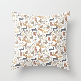 My sweet rabbit Throw Pillow