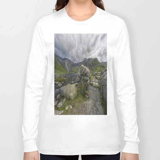 Gate To The Lake Long Sleeve T-shirt