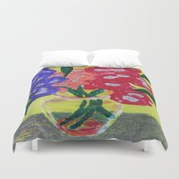 oakland Duvet Covers featuring Oakland Glad by Oakland.Style